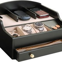 Mens Jewelry Valet and Charging Station
