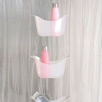 Super Shower Storage- White One
