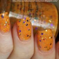 KBShimmer: Orange Pop Nail Polish by KBShimmer