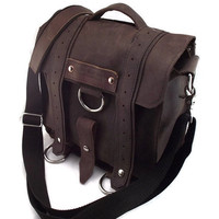 iPad Messenger Bag The Brown Safari with by theipadtraveler