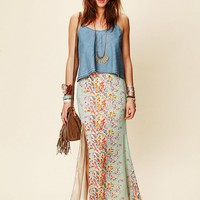 Free People Love Stoned Maxi Skirt