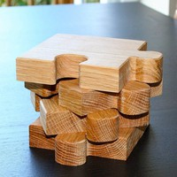 Chunky Jigsaw Coasters