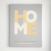 """There's no place like home"" wall art from RedEnvelope.com"
