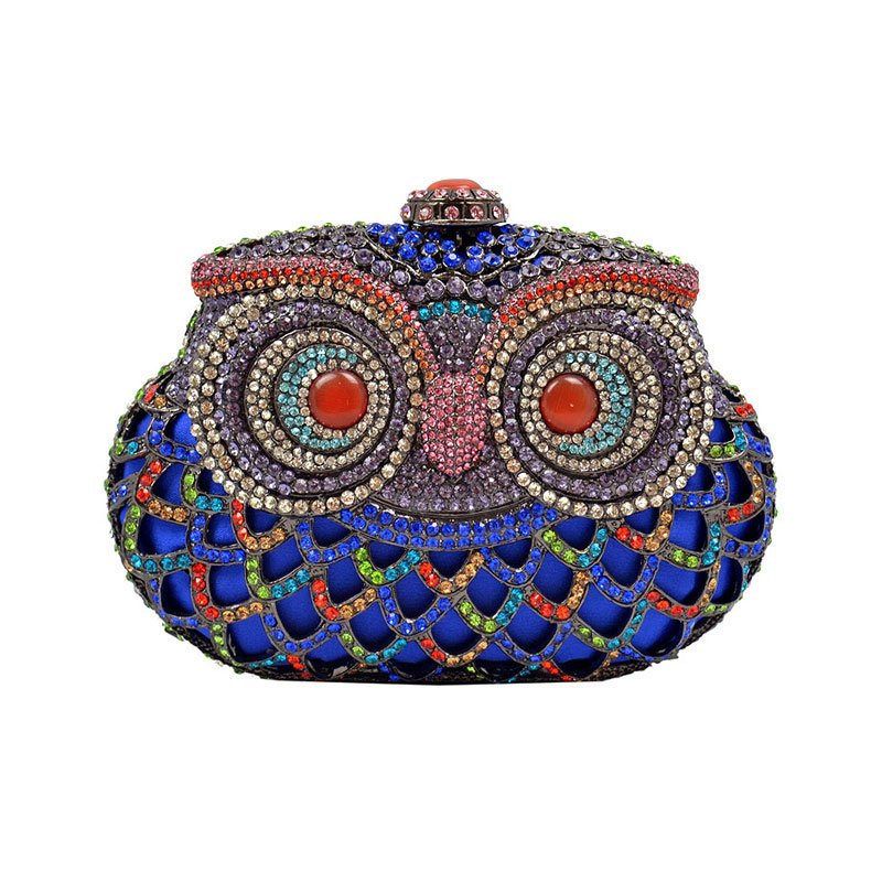 Blue Owl Clutch on Luulla