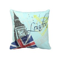 Love London Pillows from Zazzle.com