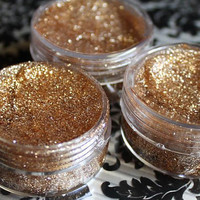 Gold Glitter Hair Gel, Temporary Hair Accessory, Halloween Costume