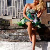 Madame Bridal: Sherri Hill Homecoming 9300