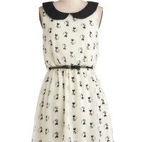 Imagine Me and Meow Dress | Mod Retro Vintage Dresses | ModCloth.com
