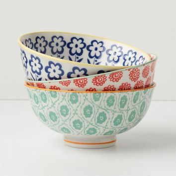 Atom Art Bowl, Green - Anthropologie.com