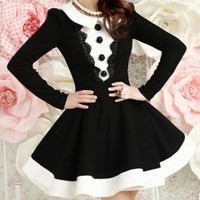 Fashion black long lady dress_Long dresses_Dinner Dresses_Mili fashion Trade Co.Ltd