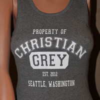 Property of Christian Grey FITTED Tank
