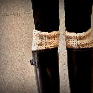 The Kilkenny Boot Cuff/ Leg Warmers/ Boot Warmers - Fisherman