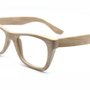 handmade bamboo wayfarer eyeglasses glasses frame by TAKEMOTO