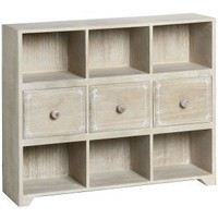 Amore Limed Multi Drawer Wall Unit