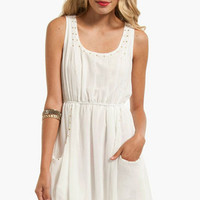 Softly Studded Tank Dress $37