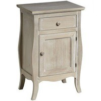 Amore Limed Bedside Table with Drawer