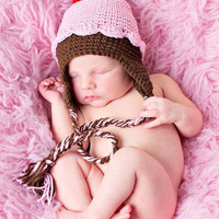 Pdf Pink Cupcake Crochet Hat Patter.. on Luulla