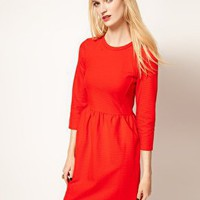 Whistles Camille Textured Dress at asos.com