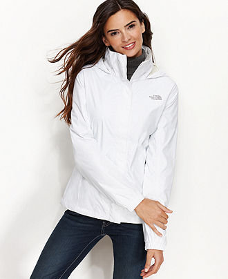 The North Face Jacket, Resolve Hooded Waterproof - Juniors Coats - Macy's