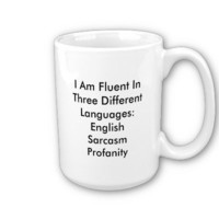 Three Languages: CUSTOMIZE ME! Mugs from Zazzle.com
