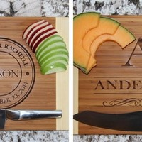 Large 11x14 Personalized Cutting Boards - 2 Amazing Designs!
