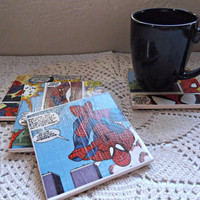 Spiderman Coasters / Wall Tiles