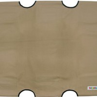 "Kakadu Pet Replacement Pet Cot Cover, Extra Large, 48"" x 36"", Hay (Beige)"