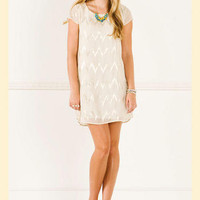 Emma Zig Zag Shift Dress