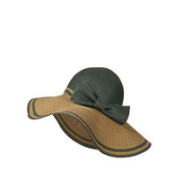 TWO-TONE WIDE BRIM HAT WITH BOW - Accessories - Collection - Woman - ZARA United States