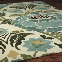Amy Butler Vibrant Damask Rug - Shades of Light