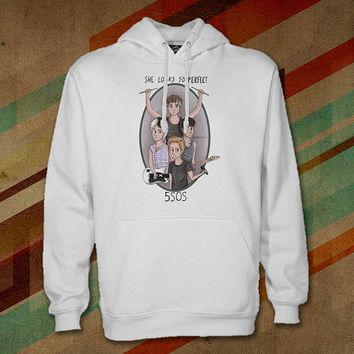 5 Seconds Of Summer-She Looks So Perfect Hoodie For Women Hoodie , Man Hoodie