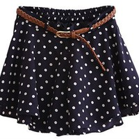 Polka Dot Skater Short