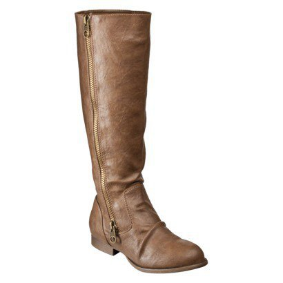 Women's Mossimo® Karie Flat Boot - Brown