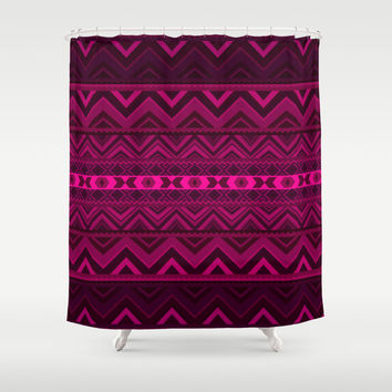 Pink #6 Shower Curtain by Ornaart