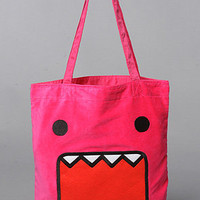 The Plush Face Tote by Domo | Karmaloop.com - Global Concrete Culture