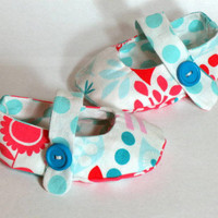 Baby Crib Shoes Girls Owls Bunnies .. on Luulla