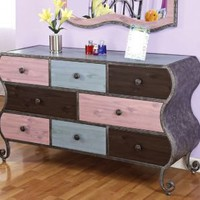 Parisian Collection Eight-Drawer Dresser | LampsPlus.com
