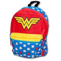 Wonder Woman Backpack w/ Cape | SuperheroDen.com