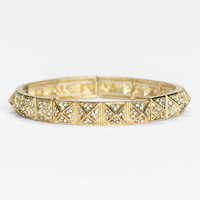 Stephan &amp; Co. Rhinestone Pyramid Bracelet | Nordstrom