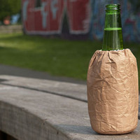 Brown Baggin': Paper Bag Koozie | Incredible Things