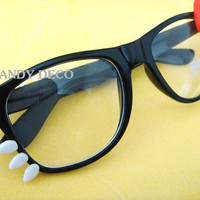 iCat Sunglasses Black/Red by GuiltyFreeCandy 