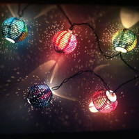 Galaxy Light Paper Lanterns