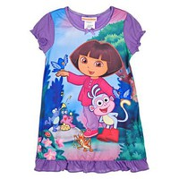AME Sleepwear Dora and Boots Nightgown for Toddler Girls