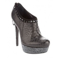 PHILIPP PLEIN Embellished shoe boot