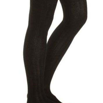 Ribbed Over-the-Knee Socks by Charlotte Russe