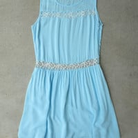 Pearls and Lace Dress in Blue [5541] - $28.80 : Vintage Inspired Clothing & Affordable Dresses, deloom | Modern. Vintage. Crafted.