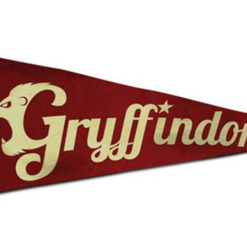 Gryffindor 1948 Vintage Pennant Art Print by Andy Pitts