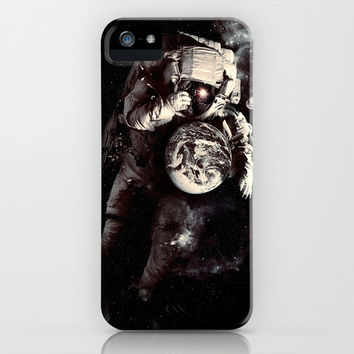 It's A Small World After All iPhone & iPod Case by Nicebleed