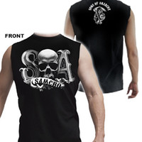 Sleevless T-shirt Sons of Anarchy skull