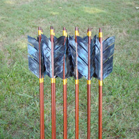 Katniss Arrows, 30-35lb, Hunger Games inspired archery arrows, traditional wood archery arrow set
